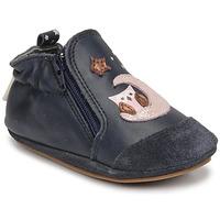 Schuhe Mädchen Babyschuhe Robeez NICE OWL Marine