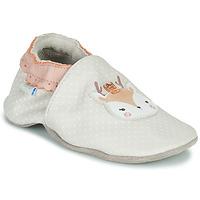 Schuhe Mädchen Babyschuhe Robeez FANCY SNOW Beige
