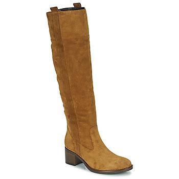 Schuhe Damen Klassische Stiefel Gabor 7167914 Cognac