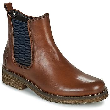 Schuhe Damen Low Boots Gabor 7270155 Braun