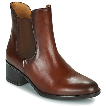 Schuhe Damen Low Boots Gabor 7165024 Braun