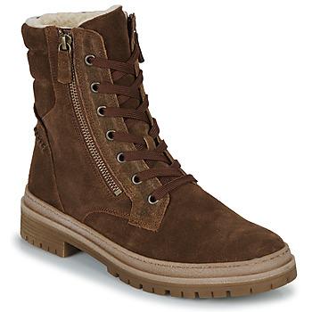 Schuhe Damen Low Boots Gabor 7177118 Braun