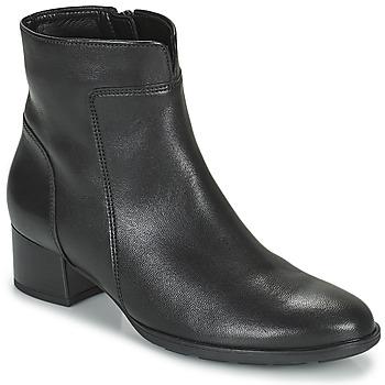 Schuhe Damen Low Boots Gabor 7551027 Schwarz