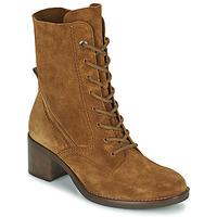 Schuhe Damen Low Boots Gabor 7167514 Cognac