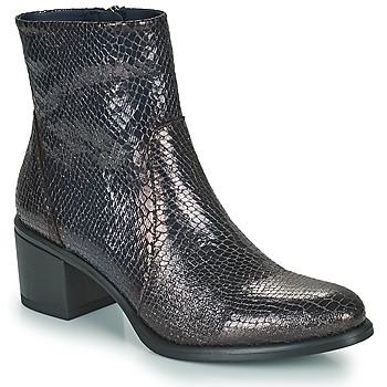 Schuhe Damen Low Boots Dorking LEXI Blau