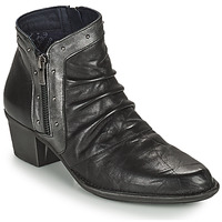 Schuhe Damen Low Boots Dorking DALMA Schwarz