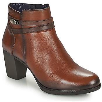 Schuhe Damen Low Boots Dorking EVELYN Braun