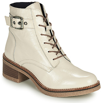 Schuhe Damen Low Boots Dorking LUCERO Naturfarben