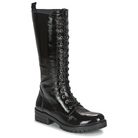 Schuhe Damen Klassische Stiefel Dorking WALKING Schwarz