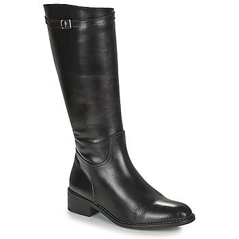 Schuhe Damen Klassische Stiefel Dorking MARA Schwarz