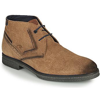 Schuhe Herren Boots Fluchos GAMMA Braun