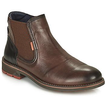 Schuhe Herren Boots Fluchos TERRY Braun