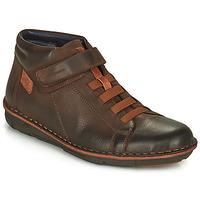 Schuhe Herren Sneaker High Fluchos ALFA Braun