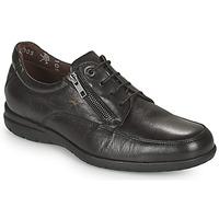 Schuhe Herren Sneaker Low Fluchos LUCA Schwarz