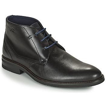 Schuhe Herren Boots Fluchos OLIMPO Schwarz