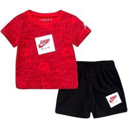 Kleidung Jungen Kleider & Outfits Nike - Tuta nero/rosso 65A358-023 NERO-ROSSO