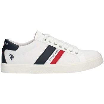 Schuhe Herren Sneaker Low U.s Polo Assn MARCS4030S1PE21 niedrig Harren WEISS WEISS