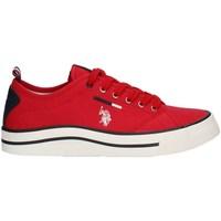 Schuhe Herren Sneaker Low U.s Polo Assn WAVE4150S1PE21 niedrig Harren ROT ROT