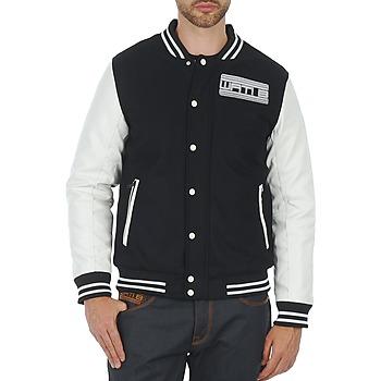 Kleidung Herren Jacken Wati B OUTERWEAR JACKET Schwarz / Weiss