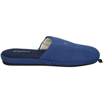 Schuhe Herren Hausschuhe De Fonseca ROMA TOP E M741 Blau