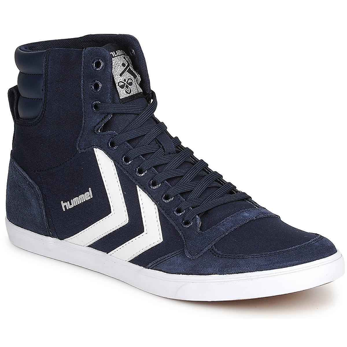 Hummel TEN STAR HIGH CANVAS Marine - Kostenloser Versand bei Spartoode ! - Schuhe Sneaker High  59,99 €