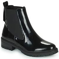 Schuhe Damen Boots Karston AMIDO Schwarz