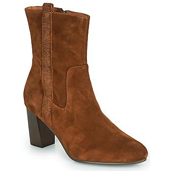 Schuhe Damen Low Boots Karston ILIAN Camel
