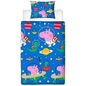 Home Kinder Decke Peppa Pig SI166 Blau