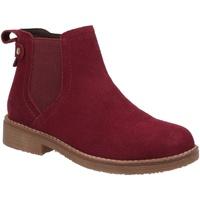 Schuhe Damen Boots Hush puppies  Bordeaux-Rot