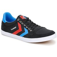 Schuhe Sneaker Low Hummel TEN STAR LOW CANVAS Schwarz