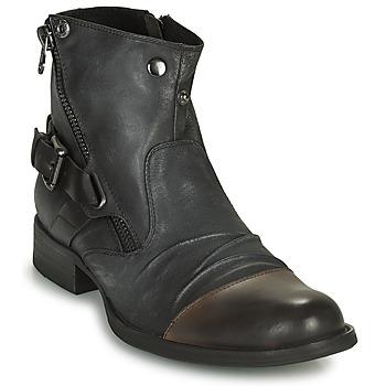 Schuhe Herren Boots Kdopa DETROIT Schwarz
