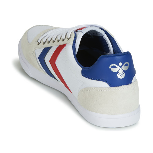 Hummel TEN STAR LOW / CANVAS Weiss / Rot / LOW Blau  Schuhe TurnschuheLow  59,99 ea5577