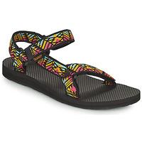 Schuhe Damen Sandalen / Sandaletten Teva ORIGINAL UNIVERSAL Schwarz / Multifarben
