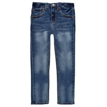 Kleidung Jungen Röhrenjeans Levi's 510 SKINNY FIT EVERYDAY PERFORMANCE JEANS Blau