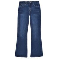 Kleidung Mädchen Bootcut Jeans Levi's HIGHRISECROPFLARE Blau