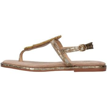 Schuhe Damen Zehensandalen Alma Blue V21BL9017 BRONZE