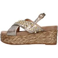 Schuhe Damen Sandalen / Sandaletten Alma Blue V21BL6506 BRONZE