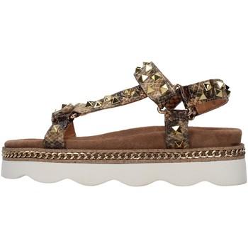 Schuhe Damen Sandalen / Sandaletten Alma Blue V21BL7101 BEIGE