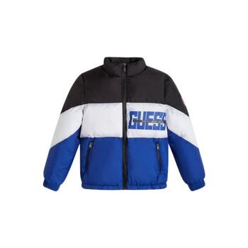 Kleidung Jungen Daunenjacken Guess THABITHA Blau