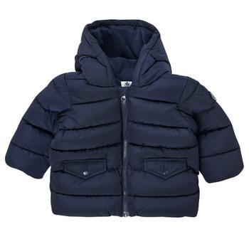 Kleidung Jungen Daunenjacken Petit Bateau COLINE Blau