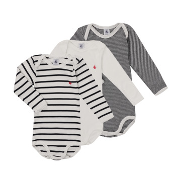 Kleidung Kinder Pyjamas/ Nachthemden Petit Bateau TEBINE Multicolor