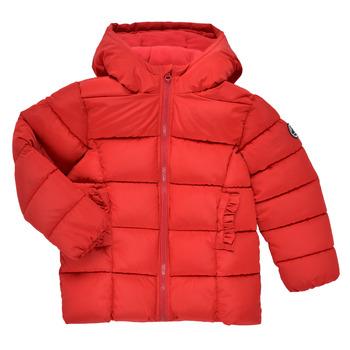 Kleidung Mädchen Daunenjacken Petit Bateau TYLA Rot