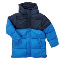 Kleidung Jungen Parkas Petit Bateau KAYS Blau