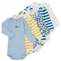 Kleidung Jungen Pyjamas/ Nachthemden Petit Bateau FEDDY Multicolor