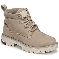 Schuhe Damen Boots Levi's SOLVI ANKLE Beige