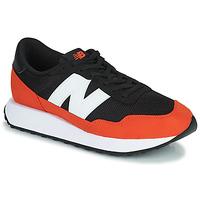 Schuhe Herren Sneaker Low New Balance 237 Schwarz / Orange