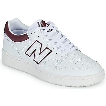 Schuhe Herren Sneaker Low New Balance 480 Weiss / Bordeaux