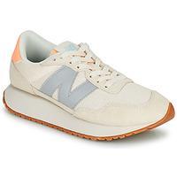 Schuhe Damen Sneaker Low New Balance 237 Beige