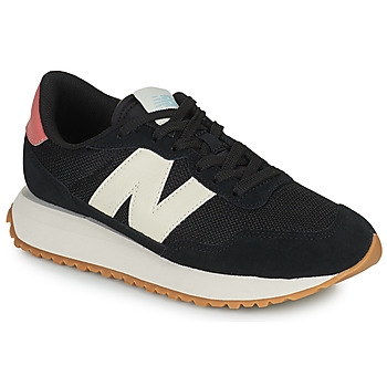 Schuhe Damen Sneaker Low New Balance 237 Schwarz / Weiss / Rose