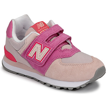 Schuhe Mädchen Sneaker Low New Balance 574 Rose / Violett